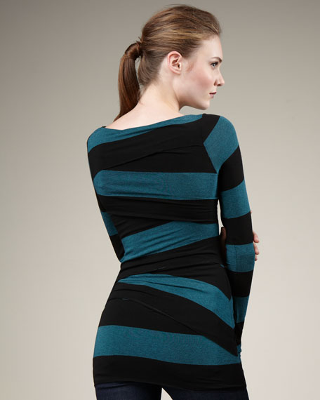 Race Against Time Striped Top