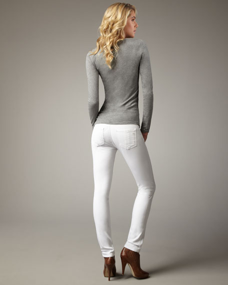 The Skinny Bright White Jeans