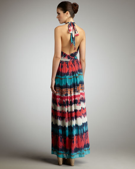 Gustavia Dip-Dyed Maxi Dress