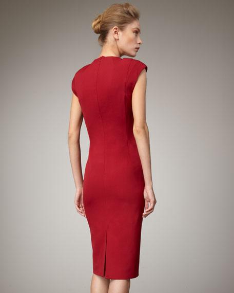 Molded Sheath Dress