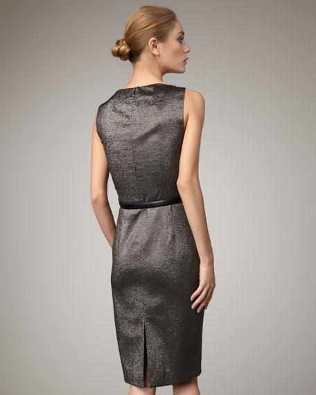Metallic Dress, Gunmetal