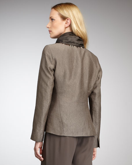 Silk Blazer, Women's