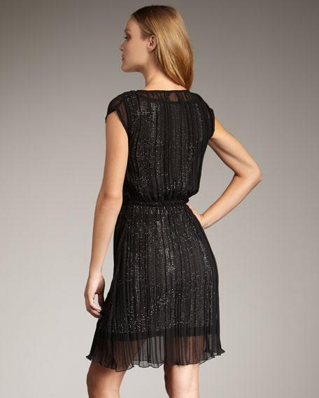 Overlay Shimmer Dress