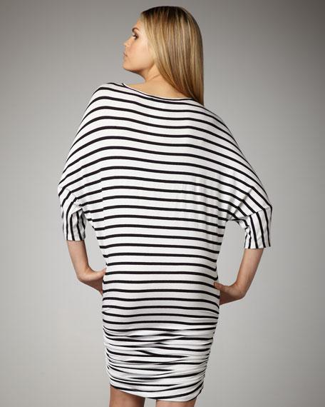 Salem Striped Jersey Dress