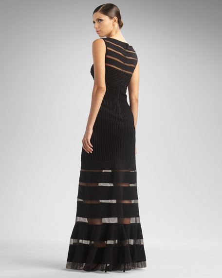 Illusion Sheath Gown