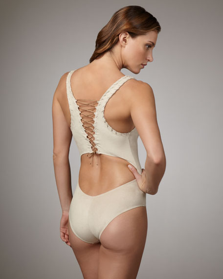 Indian Beach Sueded One-Piece
