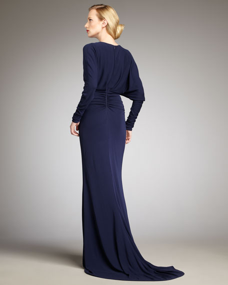 Long-Sleeve Gown