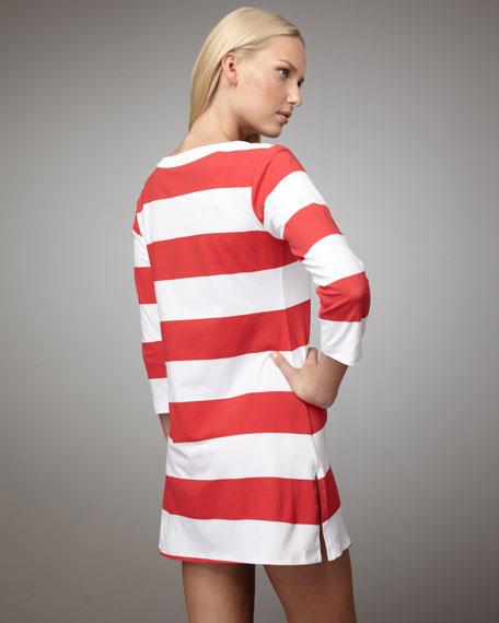 Striped Coverup