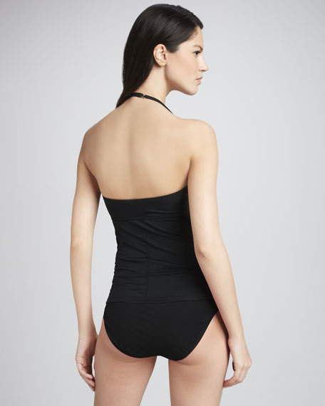 Lovely Lace Ruched One-Piece