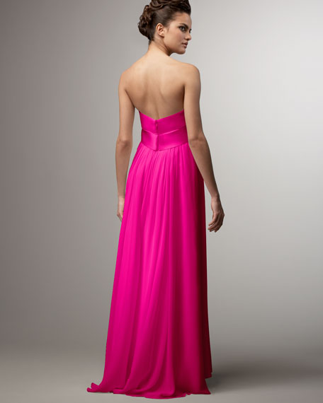 Ribbon-Bodice Gown