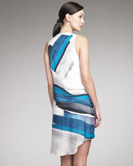 Tetra Printed Dress