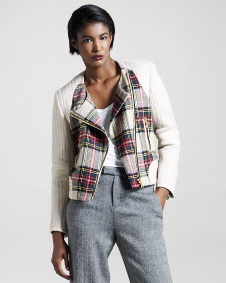 Sackville Plaid Jacket