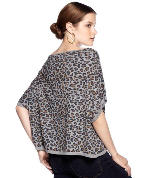 Cheeky Cheetah-Print Top