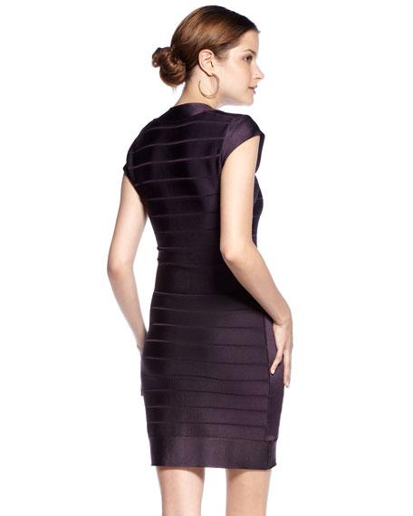 Far East Spotlight Banded Dress