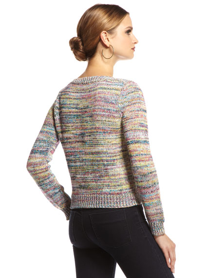 Space-Dyed Knit Sweater
