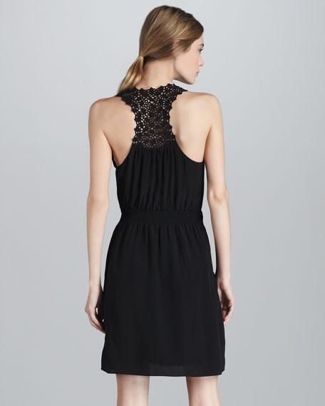 Crochet-Strap Dress