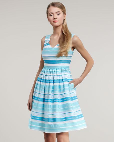 Kiera Striped Dress