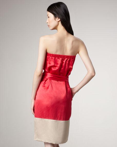 Suzie Satin Dress
