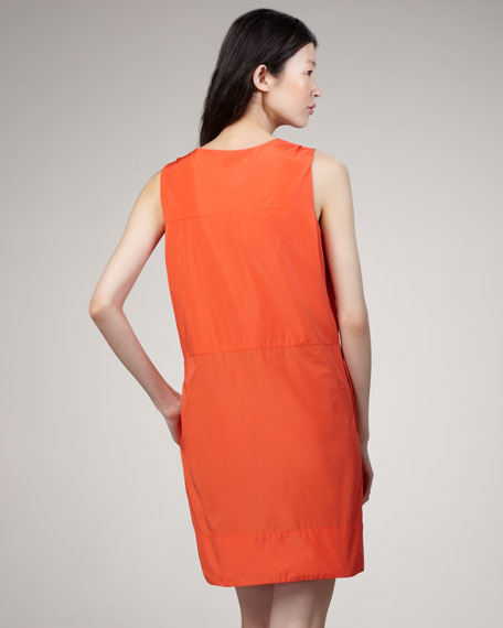 Saatchi Shift Dress, Orange