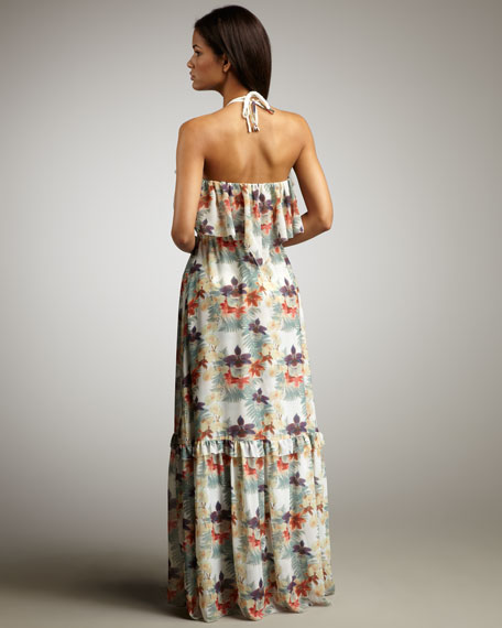 Panama Printed Maxi Dress