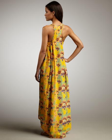 Flora Racerback Maxi Dress
