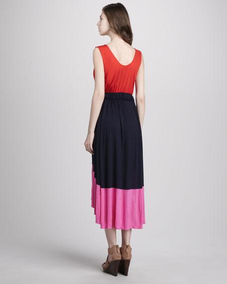 Phoebe Colorblock Jersey Dress