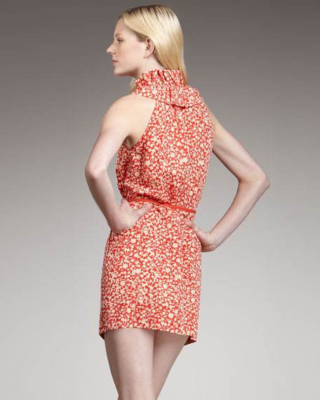 Ando Floral-Print Dress