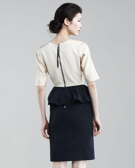 Marfa Peplum Dress