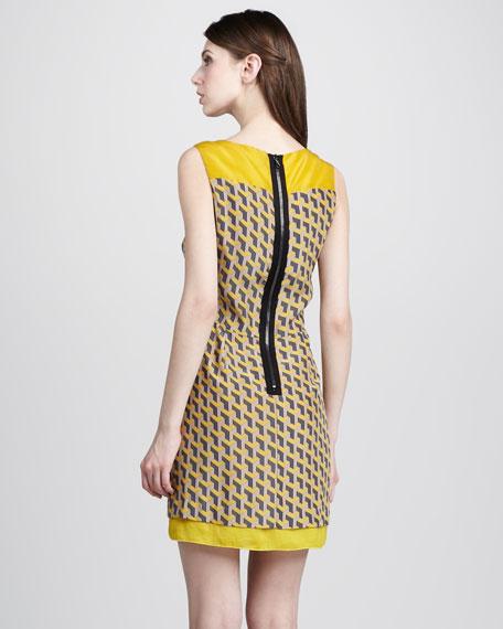 Chelsea Geometric-Print Dress