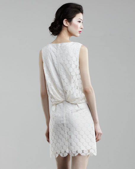 Dot-Lace Dress