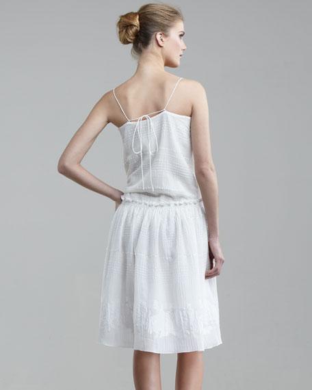 Tissue Floral Dress