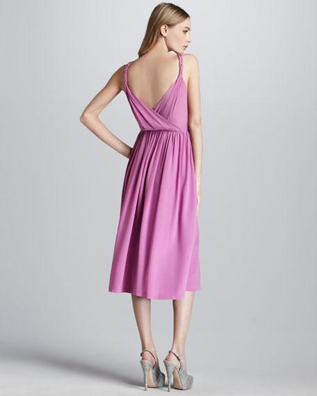 All Tied Up Silk Dress