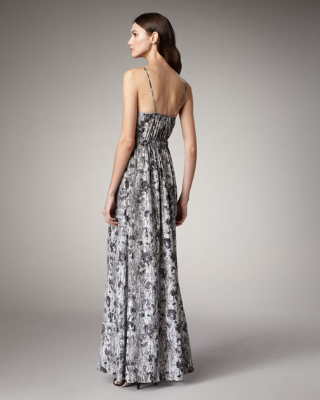 Flower Wall Maxi Dress