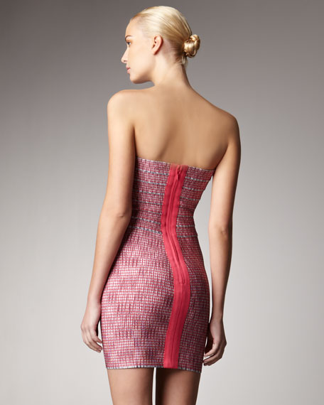 Woven Knit Dress