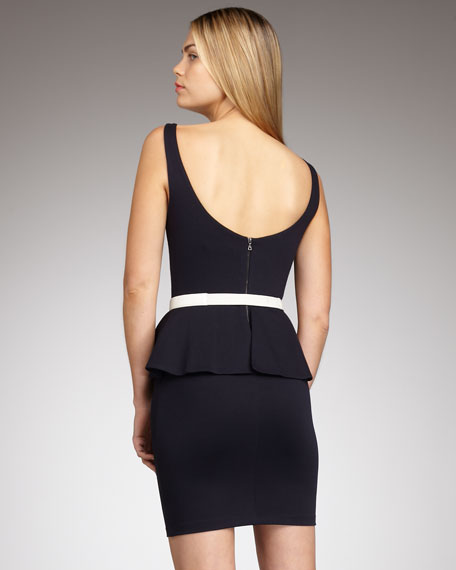 Tory Peplum Dress