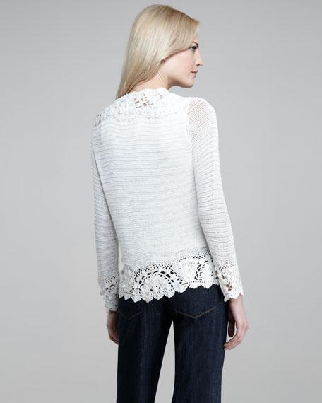 Crochet Cardigan, Petite