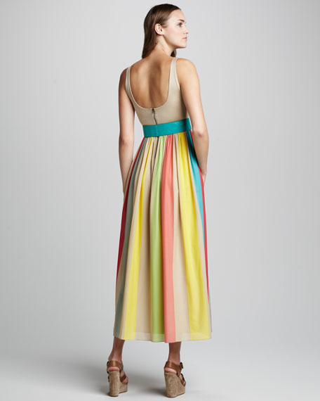 Wade Belted Maxi Dress