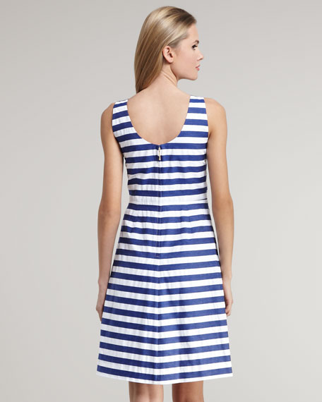 jillian striped dress