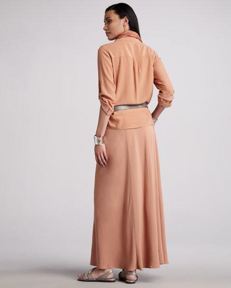 Silk Skirt, Petite