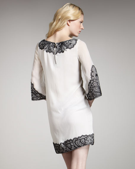 Willow Lace-Embroidered Dress