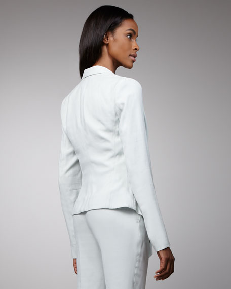 Draped Suit Jacket