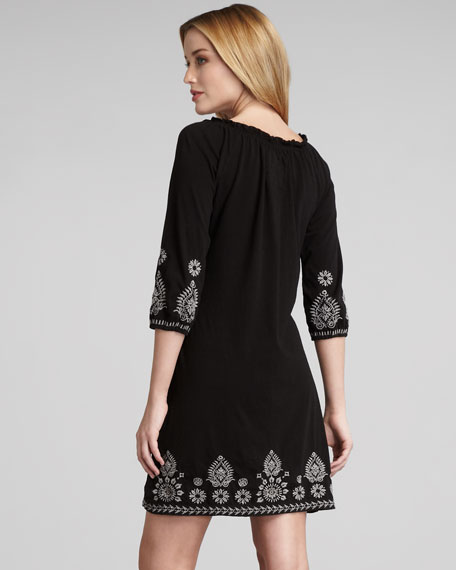 Laura Embroidered Dress