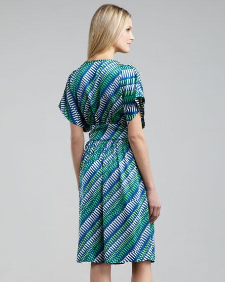 Flag-Print Dress