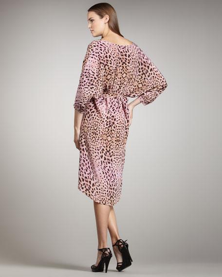 Savanna Sunrise Printed Dress