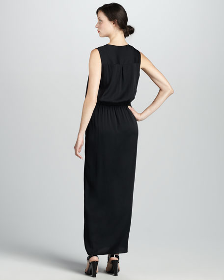 Zooann Surplice Maxi Dress