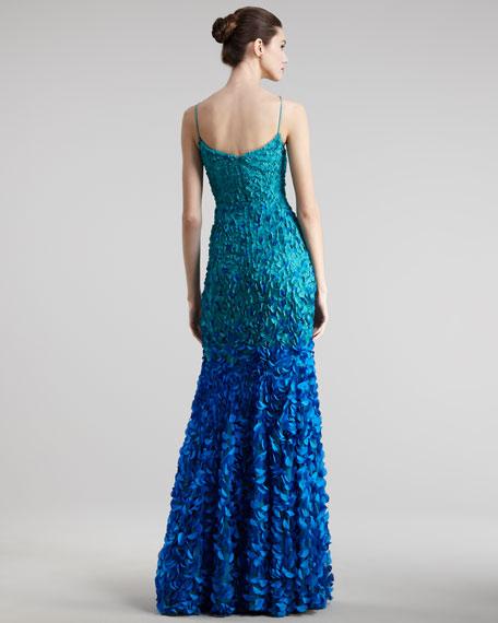 Petal Ombre Gown
