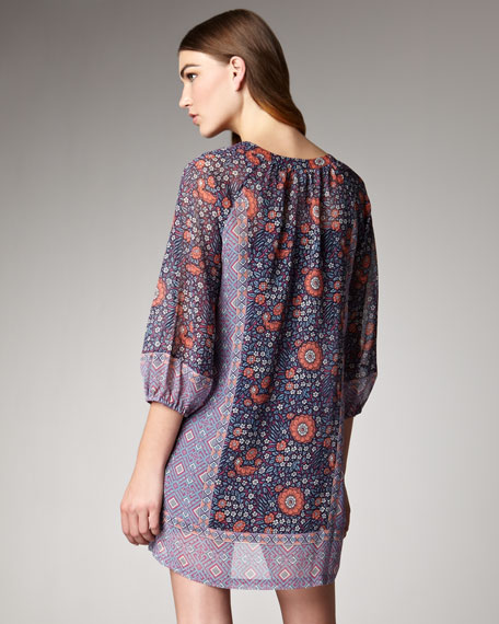 Alanna Floral-Print Dress