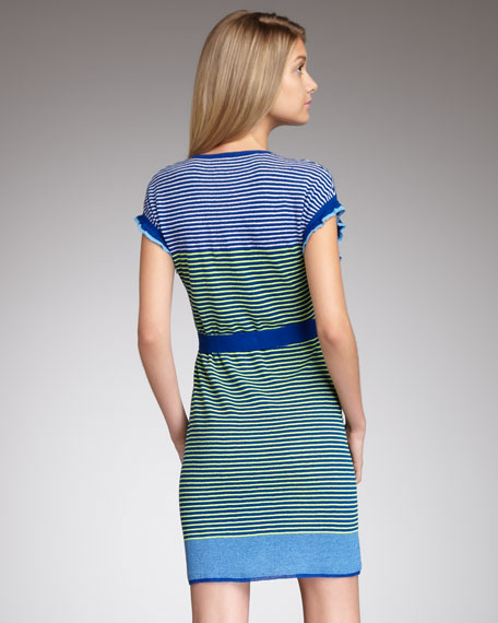 Heartbeat Striped Dress