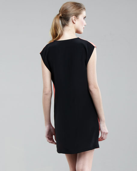 Two-Tone Tunic Dress