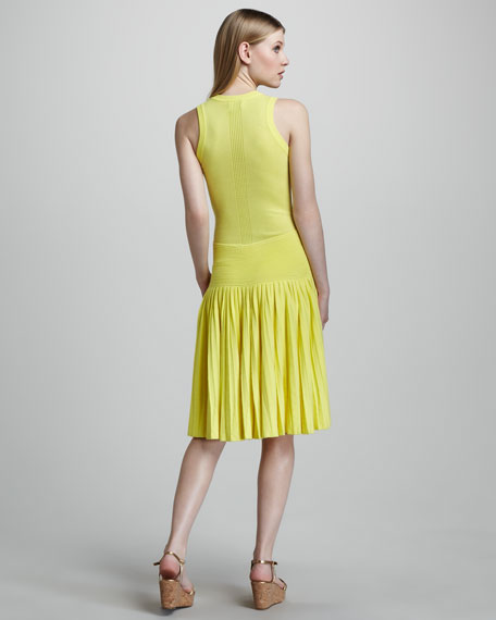 Josephine Pleated Dress